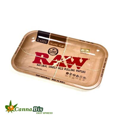 RAW ROLLING TRAY, dispensary edibles