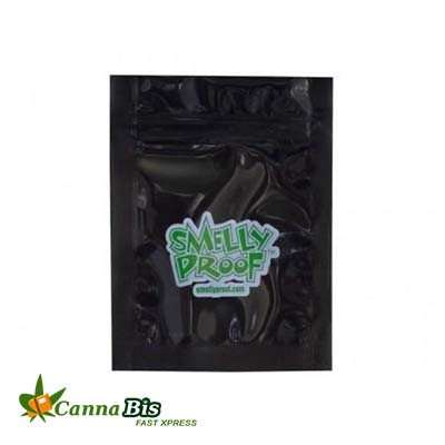 SMELLY PROOF BAGS - 2X3 XXS, dispensary edibles, SMELLY PROOF BAGS - 2X3 XXS (BLACK)
