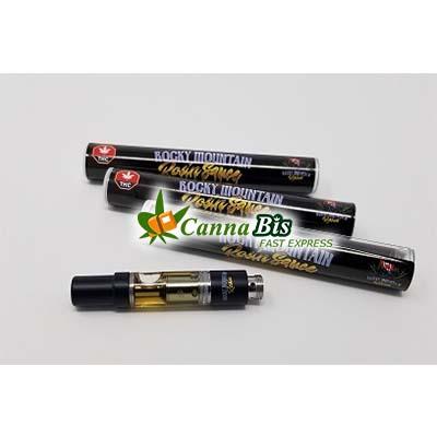 Rocky Mountain Rosin Sauce Vape Tip B.C Rockstar 1mL, cannabis fast express