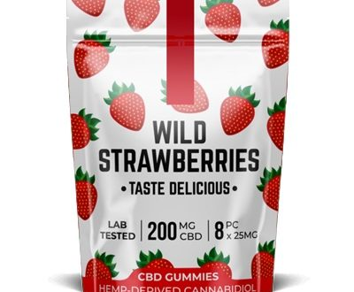 Pacific CBD Wild Strawberries 200mg, cannabis fast express, quality medical marijuana weed
