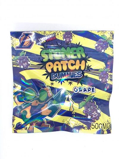 Stoner Patch Dummies (500mg), Stoner Dummies, cannabis fast express