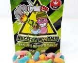 350MG Nuclear Sour Gummy Worms, cannabis fast express